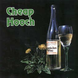 Cheap Hooch CD Cover by Erin McKee